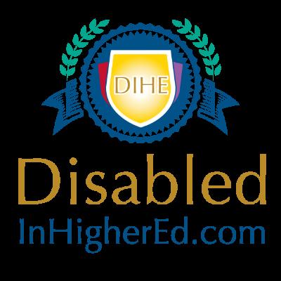 Disabledinhighered.com Logo